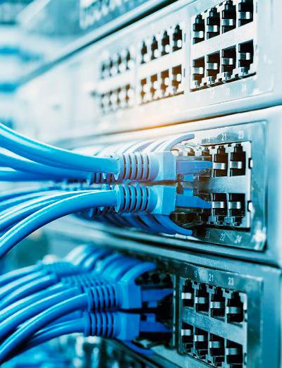 red de voz y datos instalación